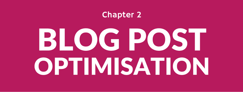 blog post optimisation in WordPress