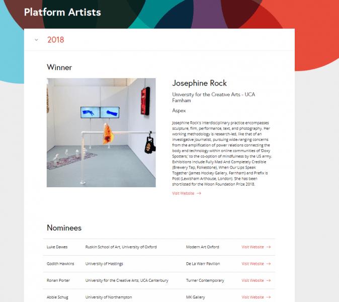 CVAN website design