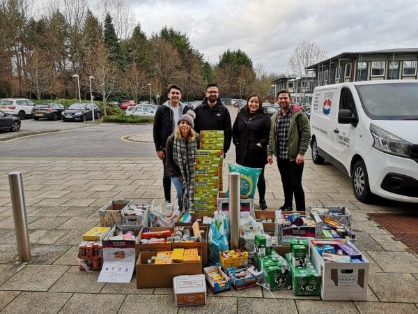 the team with all the donations for southampton city mission