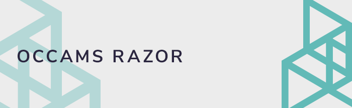 Occams Razor and Web Design