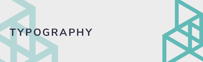 Typography and web design